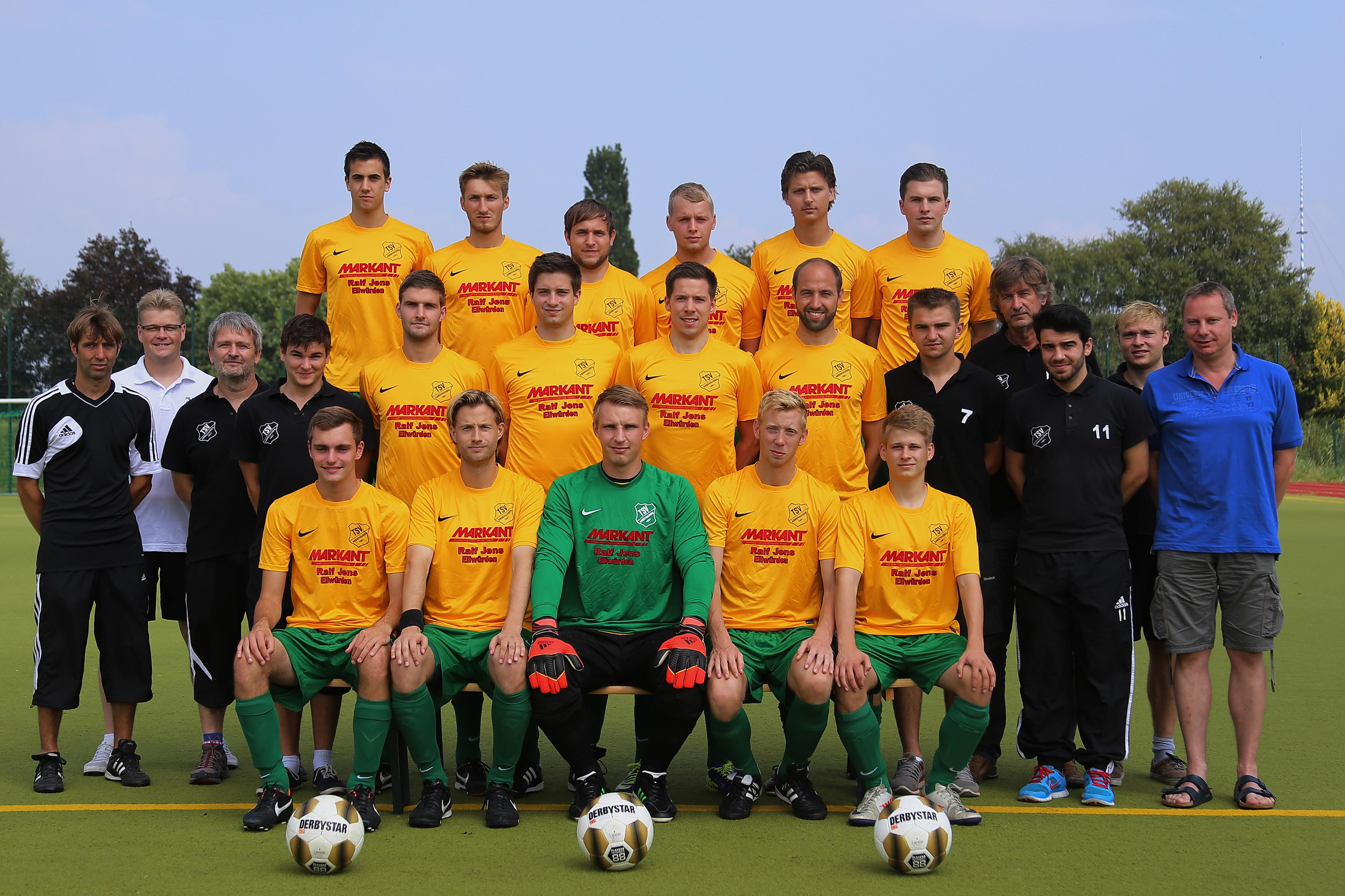 TSV Abbehausen 1. Herren Saison 2014/2015