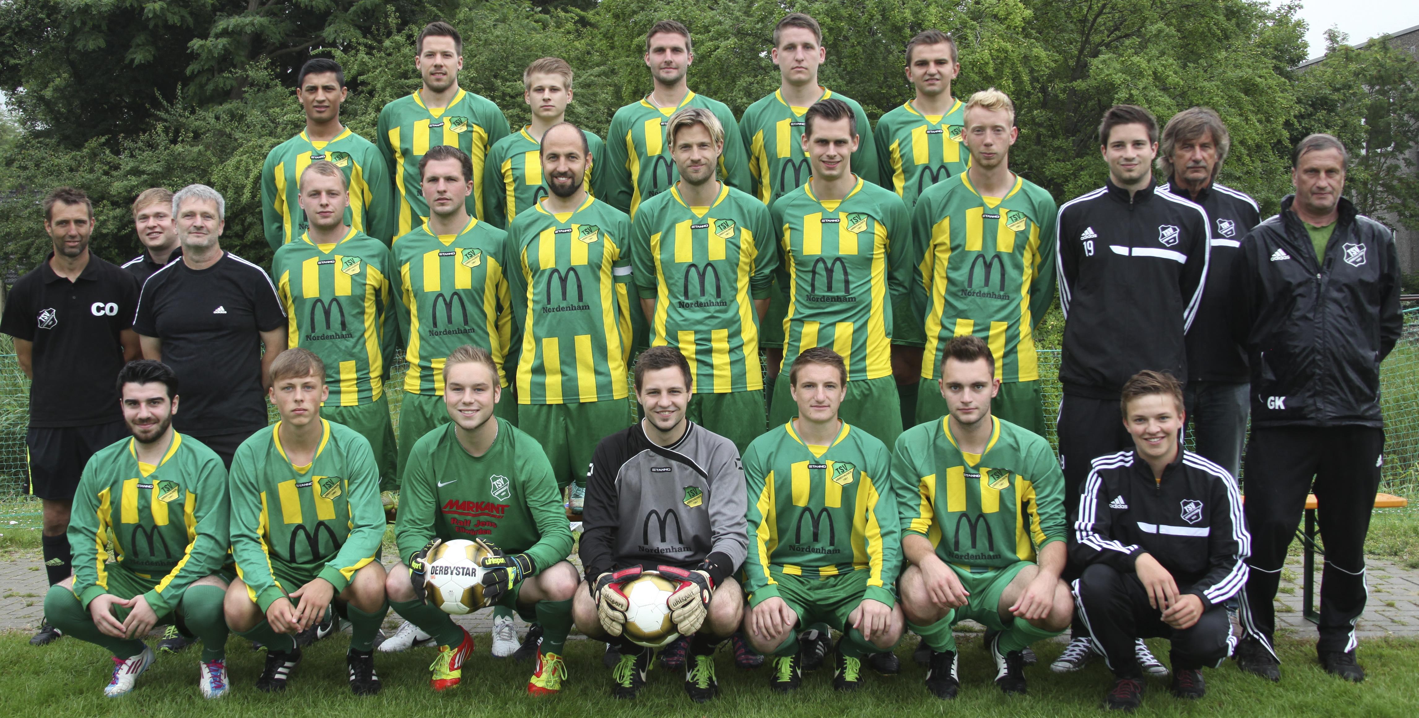 TSV Abbehausen Saison 2015/2016 1. Herren