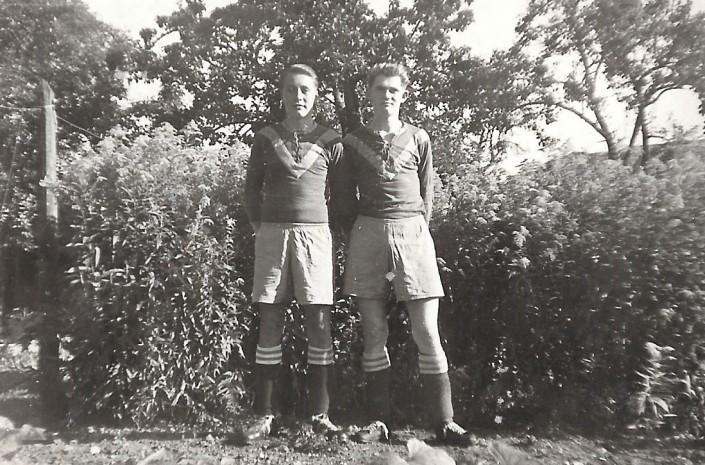 Gerriet Heinemann (links) und Harry Lübken